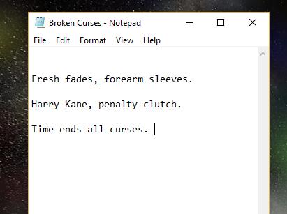 Broken Curses